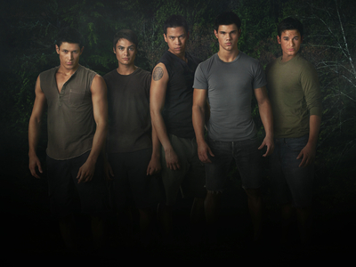 Jacob Black and his pack- Twilight Saga